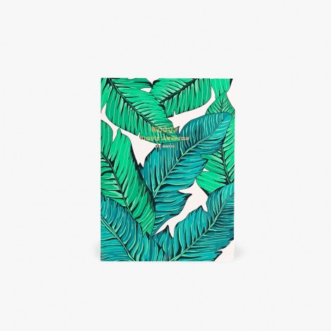 Carnet A6 Tropical
